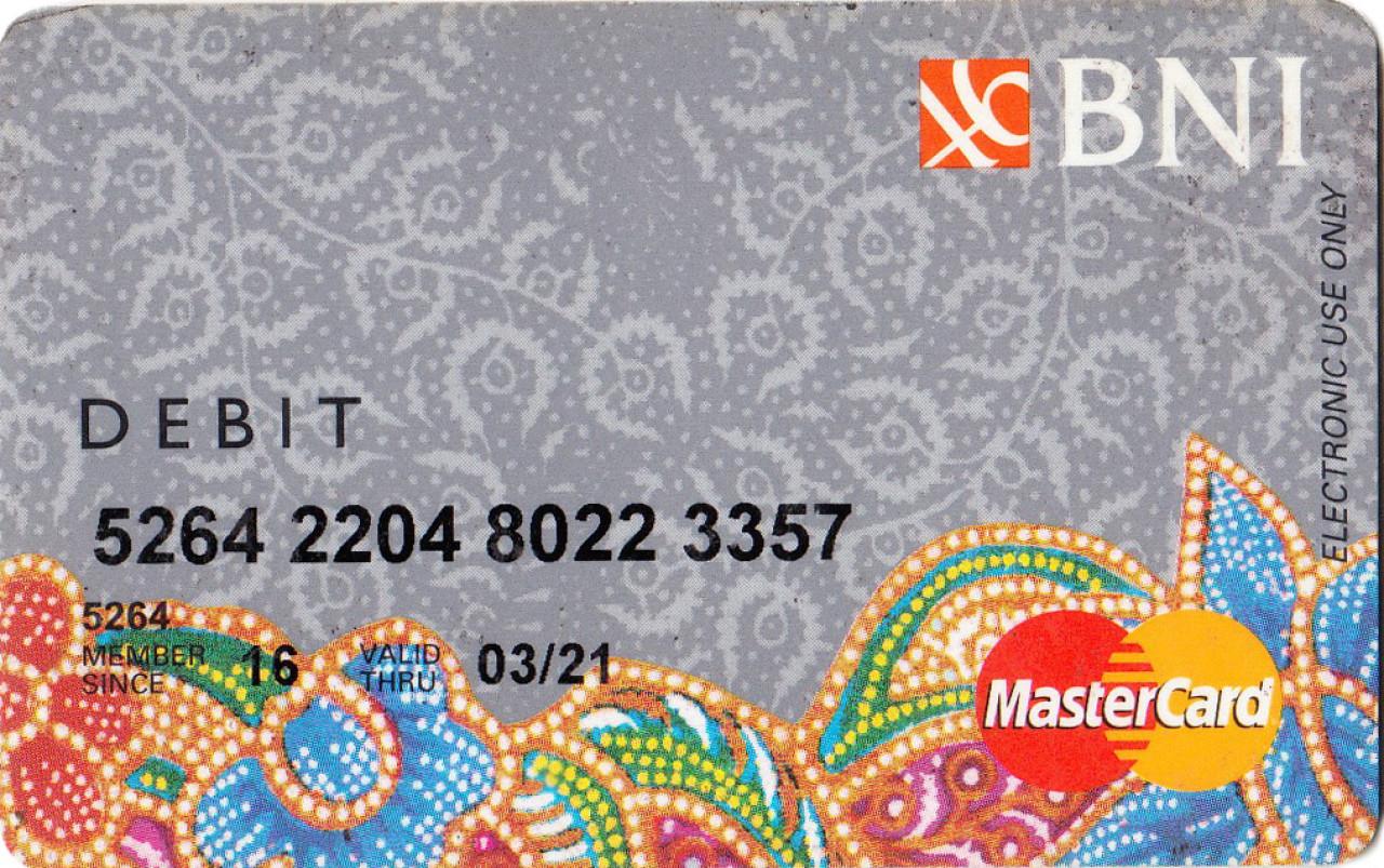 Kartu Debit BNI Karnadi
